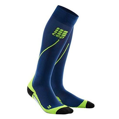 Skarpety pro+ run socks 2.0 men purple blue/green rozmiar v marki Cep