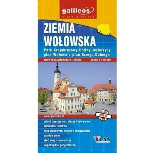 Mapa turystyczna - Ziemia Wołowska 1:40 000 (9788361092452)