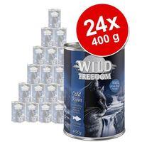 Wild Freedom Adult, 24 x 400 g - Cold River - Czarniak i kurczak (4260358518626)
