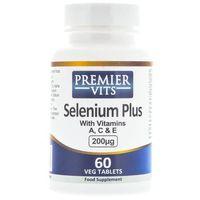 Tabletki Premier Vits Selenium Plus 200 µg - 60 tabletek