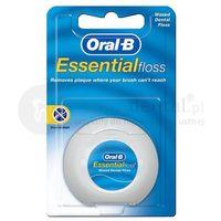 Oral-b essentialfloss 50m nić dentystyczna woskowana e253
