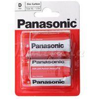 Panasonic Bateria cynkowo-węglowa r20 d - taca 2 sztuki