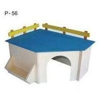 Pinokio drewniany domek dla szynszyla p56