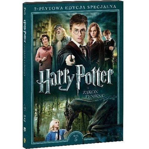 Harry potter i zakon feniksa. 2-płytowa edycja specjalna (2dvd) (płyta dvd) marki Galapagos