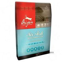 Orijen Cat Six Fish, 6 ryb - 4,4 + 1 kg gratis (0064992281540)