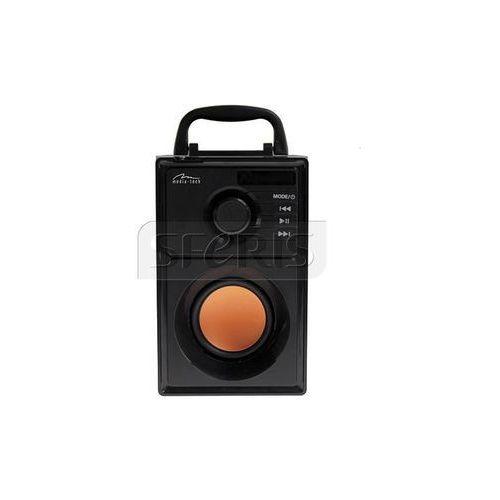 Media tech Media-tech boombox bt- głośnik bluetooth z wooferem, radiem fm, odtwarzaczem mp3 i pilotem zdalnego sterowania mt3145
