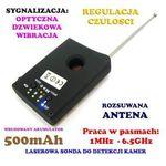 Spy electronics co. Laserowy wykrywacz podsłuchów, kamer, gsm, lokalizatorów gps... + słuchawki.