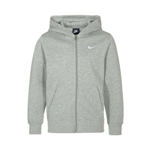 Nike Performance YA76 Bluza rozpinana dark grey heather/white, 619069