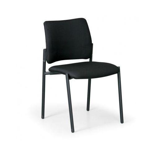 Krzesło konferencyjne rocket bez podłokietników, czarny marki B2b partner