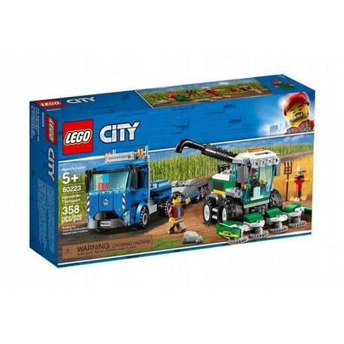 60223 TRANSPORTER KOMBAJNU (Harvester Transport) KLOCKI LEGO CITY