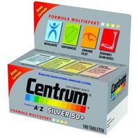 Tabletki CENTRUM A-Z Silver 50+ x 100 tabletek