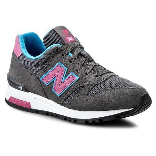 Sneakersy - classics wl565sgp szary, New balance, 36-41.5