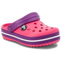 Klapki CROCS - Crocsband Clog K 204537 Paradise Pink/Amethyst