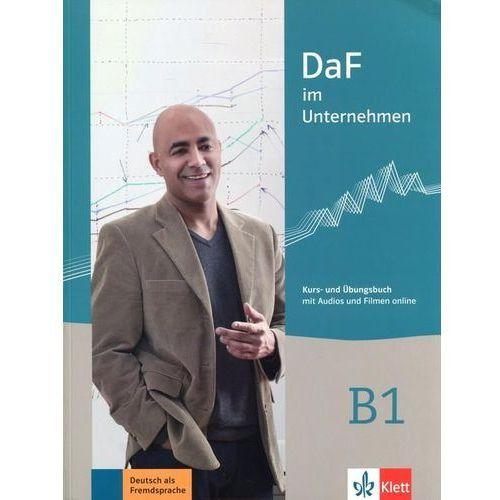 Daf im Unternehmen B1 Kurs- und Ubungsbuch - Dostawa 0 zł, Lektorklett