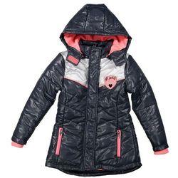 Dirkje Dziewczęca pikowana kurtka 116 szary, kolor szary