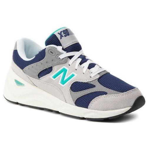 Sneakersy - msx90tti granatowy kolorowy, New balance, 42.5-45