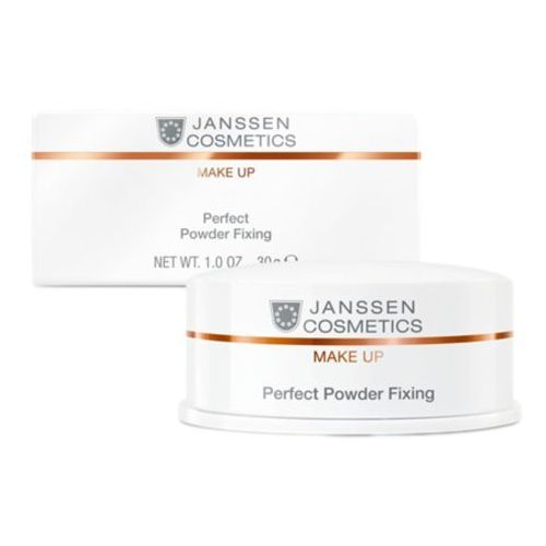 Perfect powder fixing utrwalający puder transparentny (c-841) Janssen cosmetics
