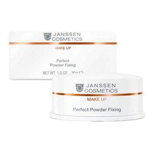 Perfect powder fixing utrwalający puder transparentny (c-841) Janssen cosmetics - Rewelacyjny upust