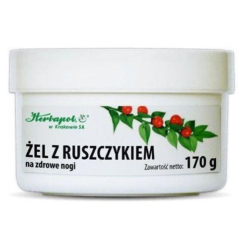 Herbapol kraków Żel z ruszczykiem 170g - Ekstra przecena