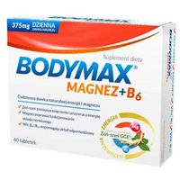 Tabletki Bodymax Magnez + B6 x 60 tabletek