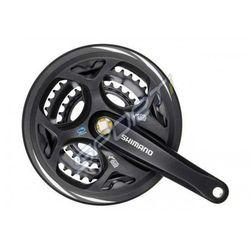 Mechanizm korbowy Shimano Altus FC-M311 175mm 42x32x22 z osłoną czarny