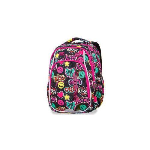 dd28c2d60c639 Świecący plecak szkolny coolpack - strike s - led emoticons marki Patio