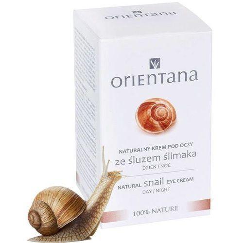 Naturalny krem pod oczy ze śluzem ślimaka 15ml Orientana