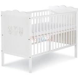 Klupś łóżeczko marsell biały 120x60
