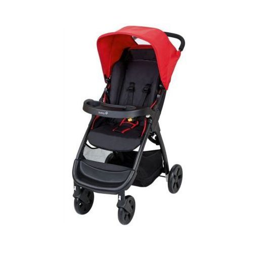 Safety first  amble wózek spacerowy plain red (3220660266258)