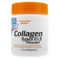 Doctor's Best Collagen Typu 1 i 3 - 200 g