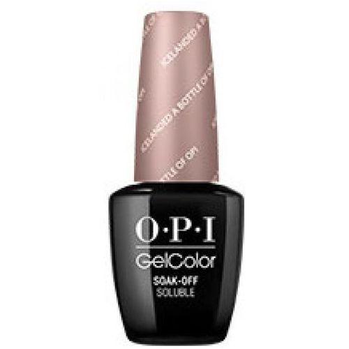Opi gelcolor icelanded a bottle of opi żel kolorowy (gc-i53)