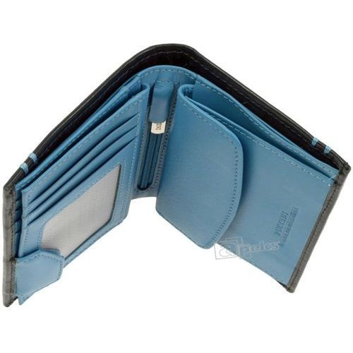 d16ff718e8d98 ▷ Royal blue i-7825 1 7 portfel skórzany męski - czarny