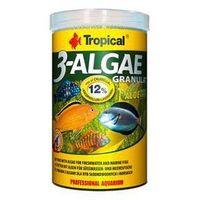 Tropical 3-algae granulat - pokarm z algami dla ryb roślinożernych 250ml/95g