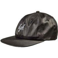 czapka z daszkiem DGK - Rally Strapback Black (BLACK)