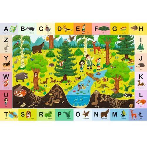 Puzzle Edukacyjne Leśny Alfabet TREFL (5900511155204)