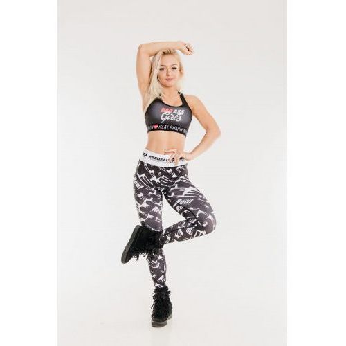 Leginsy sportowe Pattern B&W Woman