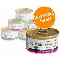 tuńczyk z barweną w bulionie 12x70g marki Schesir