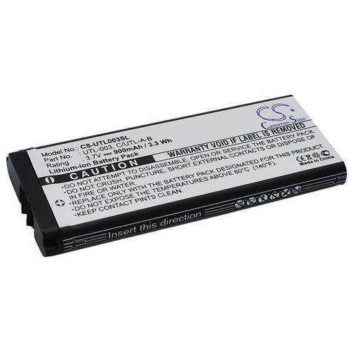 Nintendo DS XL / UTL-003 900mAh 3.33Wh Li-Ion 3.7V (Cameron Sino), CS-UTL003SL