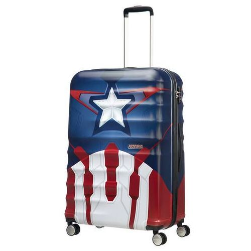 American tourister Walizka duża wavebreaker marvel - captain america close-up