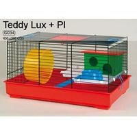 Inter zoo Inter-zoo teddy lux g034 klatka dla chomika z wyposażeniem 43x28x23,5cm
