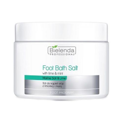Bielenda Professional FOOT BATH SALT WITH LIME & MINT Sól do kąpieli stóp z limonką i miętą - Bardzo popularne