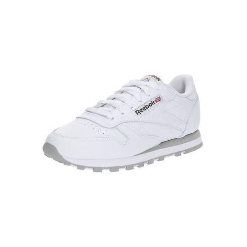 Reebok Classic Trampki niskie 'CL LTHR' hellgrau / weiß, kolor biały