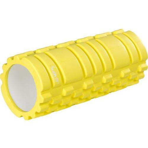 Wałek do masażu MOVIT 33 x 14 cm, jasny żółty
