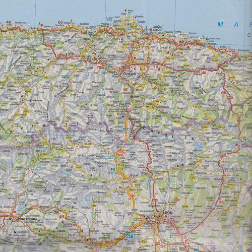 Hiszpania Portugalia 1:700 000 (9783707901597)