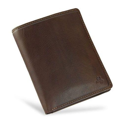 5bb93d115cfc2 Visconti Visconti Viscont bezpieczny portfel męski skórzany jasny brąz rfid  tsc49 - jasny brąz