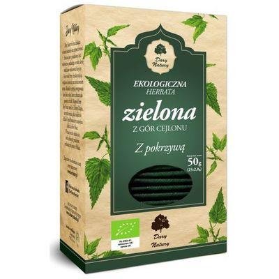Zielona herbata DARY NATURY - herbatki BIO biogo.pl - tylko natura