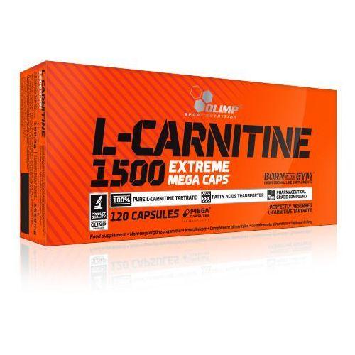 Kapsułki OLIMP L-Carnitine 1500 Extreme Mega Caps 120 kaps