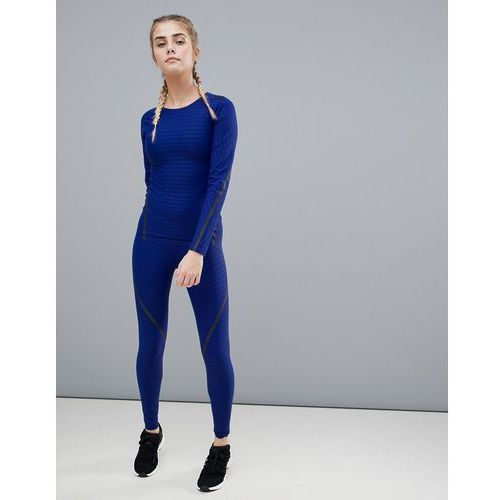 Adidas 360 alphaskin Compression Legging In Blue - Blue, w 5 rozmiarach