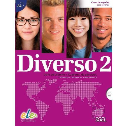 Diverso 2 podręcznik + ćwiczenia + płyta CD audio - Alonso Encina, Jaime Corpas, Gambluch Carina