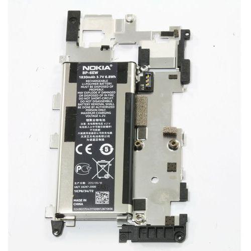 Oryginalna nowa bateria bp-6ew lumia 900 z blaszką marki Nokia